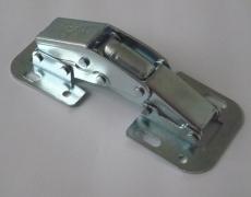 Cerniera Easy On zincata modello 340 per mobili con ante a ribalta