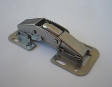 Cerniera  Easy On in Acciaio Inox 316 con sistema a doppia molla